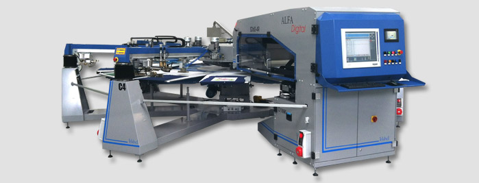 Alfa Digital screen printing machine