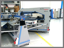 Alfa Digital add on screen printing carousel